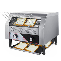 Conveyor Toaster Commercial Electric Automatic /Bun-Warmer Bread Toaster