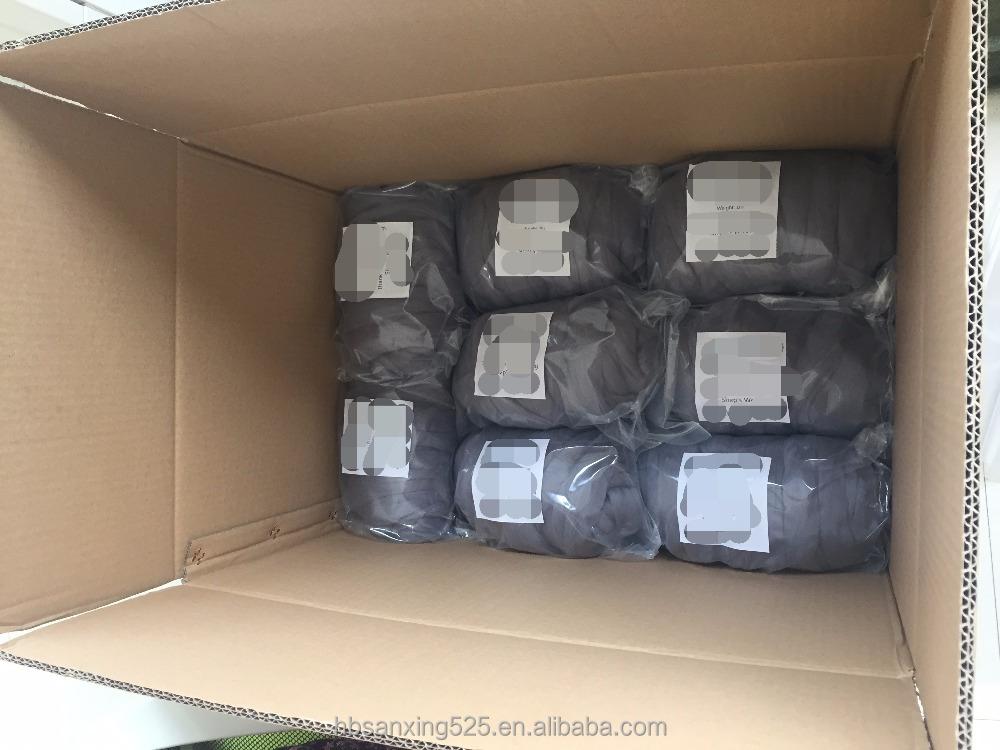 chunky wolle garn 23 mic 100 australische merino wolle f r stricken decke wollfaser produkt. Black Bedroom Furniture Sets. Home Design Ideas
