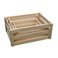 Direct factory supply high quality wooden fruit tray by handmade