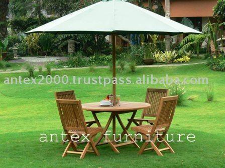 product detail antex jaya exim sells teak garden furniture set patio chairs round table etc
