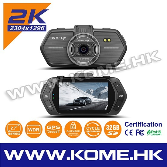 Hot kome 702 hd de la circulation mini vitesse caméra night vision nouvelle 2015