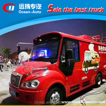 Mobile Food/ice/kitchen Truck For Sale In Dubai - Buy Mobile Food ...