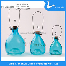 GLASS FLUIT FLY TRAP WITH LURE BAIT