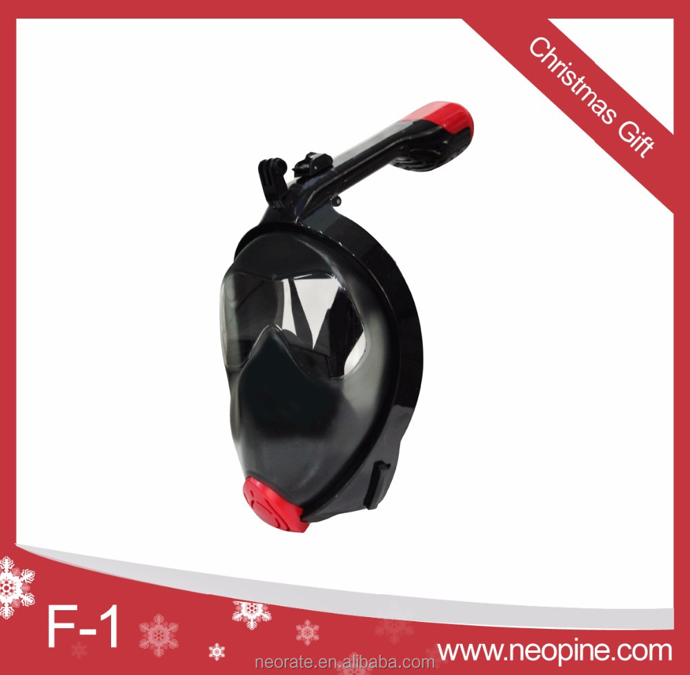 New arrival 180 degree snorkel mask full face mask diving wholesale scuba equipment