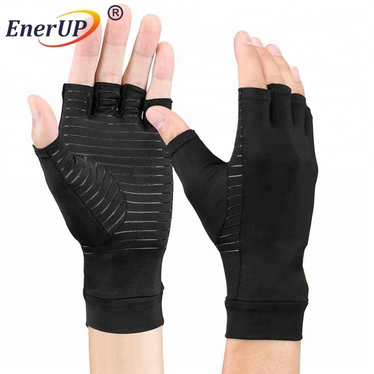 Arthritis Gloves With Copper Half Fingers Gloves Buy Arthritis Gloves With Copper Arthritis Hand Gloves Compression Arthritis Gloves Product On