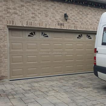 Steel Insulated Finger Protect Garage Door And Garage Door Opener