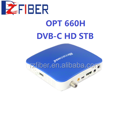 dvb c set top box hd stb dvb-c iptv set top box