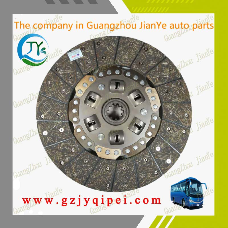 Bus and truck size 350 * 200 * 10 auto parts CA151 plate clutch driven disc assembly kit