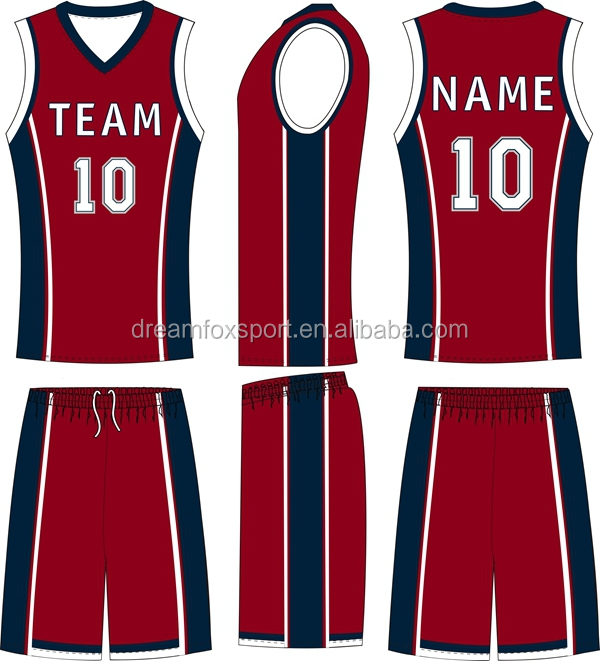 Cheap Price Custom Team Set Basketball Jersey Logo Design ...
