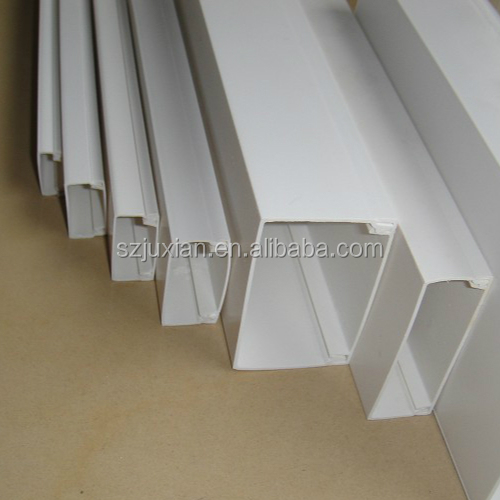 pvc cable trunking plastic wire trunking pvc wire casing