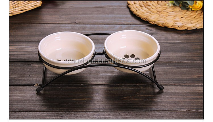 Elevated ceramic dog bowls, best selling dog products, pet food container