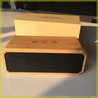 Speaker Test song Natural Bamboo stereo music Bluetooth speaker wood amplifier speaker with CE, FCC & BQB