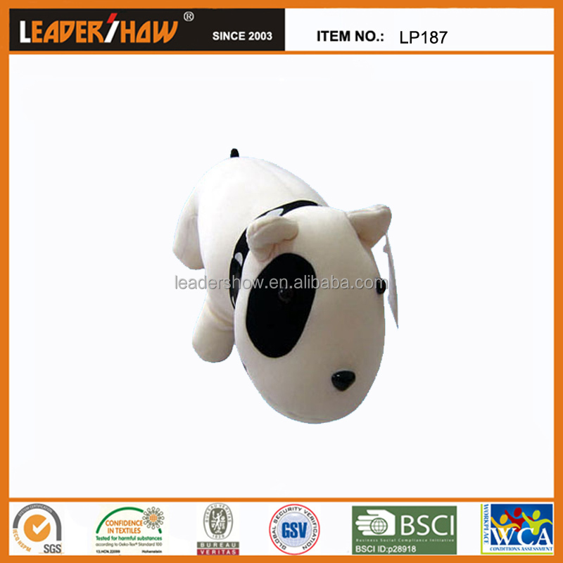 Top quality dog shaped pillow/cushion and plush nodding dog pillow/toys