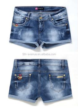 Jeans Shorts Women 2017 Ladies Jeans Top Design Jeans Half Pants ...