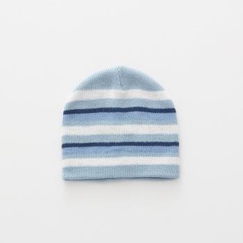 S3438 2018 nuevo Otoño e Invierno de ganchillo rayas niños sombreros de  bebé lindo sombrero para 0b48c80d657