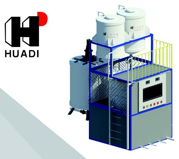 Automatic Blending and Compounding Machine For Concrete Admixtures