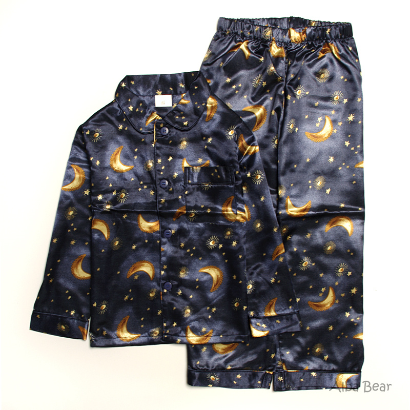 Boys Satin Pajamas Breeze Clothing