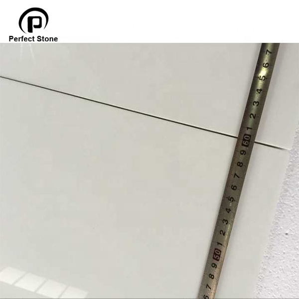 China Cheap Factory Nano glass white  slab