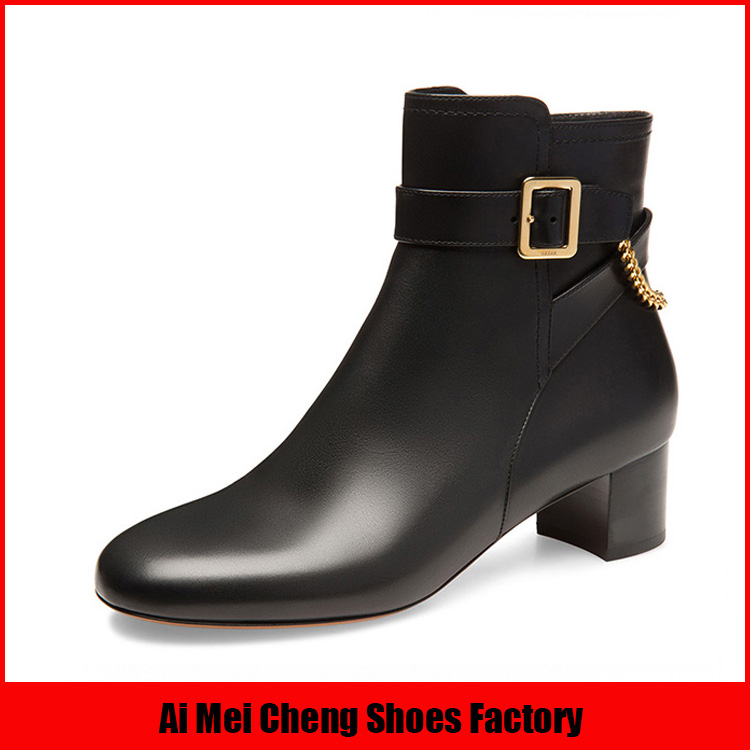 2017 New Style Leather Upper With Buckle Strap Design Women Boots Buy 2017 New Style Shoes,Leather Boots,Women Boots Product on