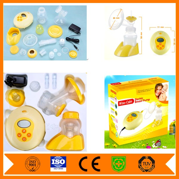 Strong Vacuum Sucker manual breast pump/Silicone milk collector/suction pacifier