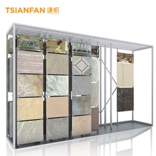 Freies $1000 cash coupon praktische stein display <span class=keywords><strong>rack</strong></span> push-up board schaufenster teile wand fliesen display <span class=keywords><strong>rack</strong></span>