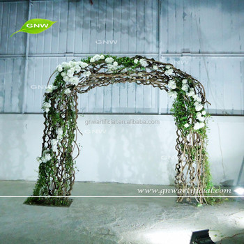 Gnw Fla161018 Wedding Arches For Sale With Decorative Artificial ...