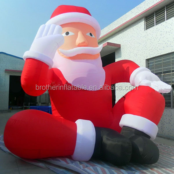 decoration christmas inflatable homer santa giant inflatable santa buy 20ft christmas inflatable santainflatable homer santagiant inflatable santa
