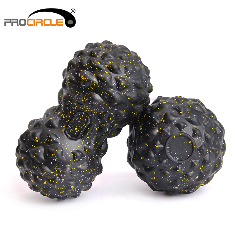 Custom Wholesale Handheld TPR Massage Roller <strong>Ball</strong>