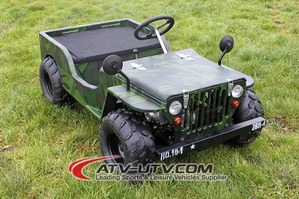 Cheap Military Jeep 4x4 with doule seat