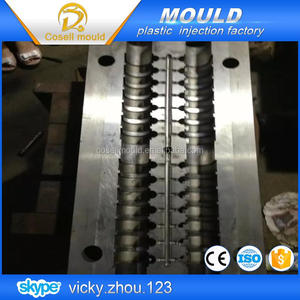 Professional nylon Cable clamp injection mould/wire clip molding/electric plastic snap mold