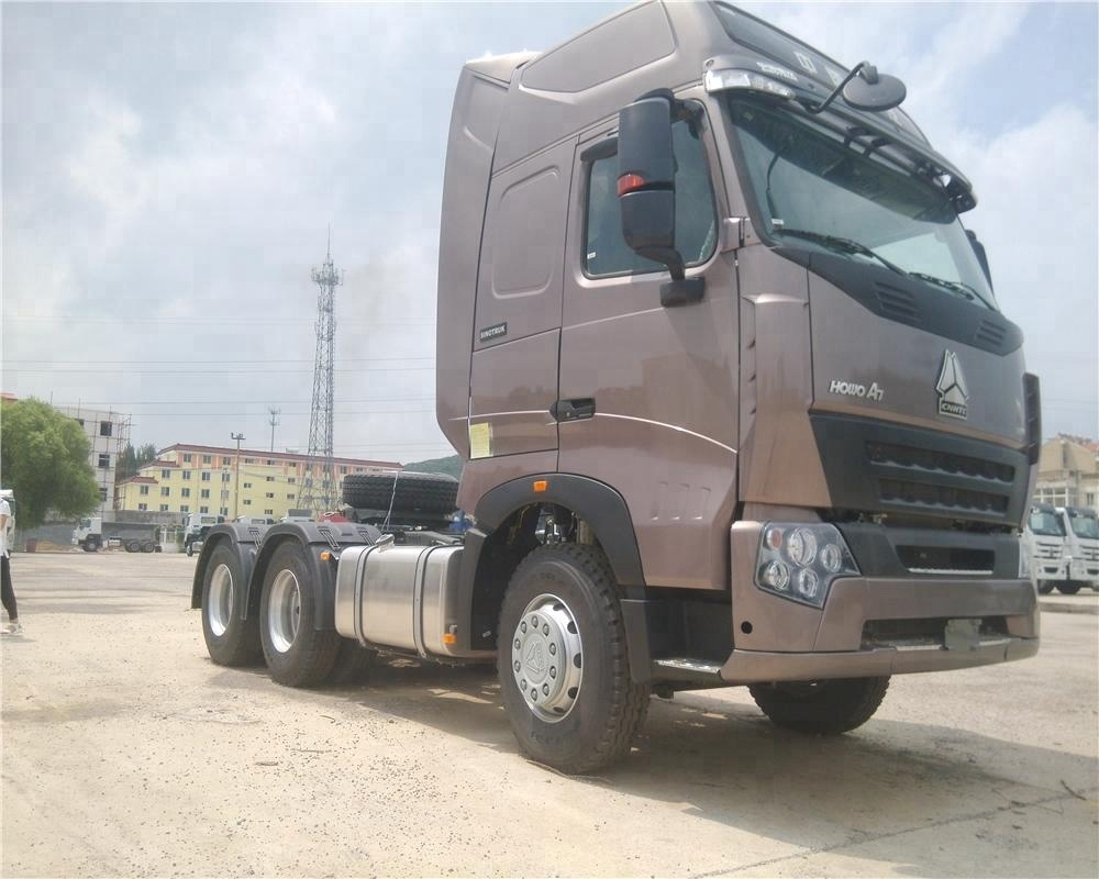 Tractor Truck Semi With 2 Sleepers Hot Ing For Howo Sitrak C7h 6x4 Trctor 2016