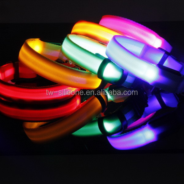 Quality-Assured Custom Luxury Personalized Waterproof Led Dog Collar