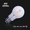 Alibaba Gold Supplier A60 4W LED Filament Bulb