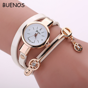 2018 Hot-selling Creative Ladies Leather Strap Weaved Bracelet watches