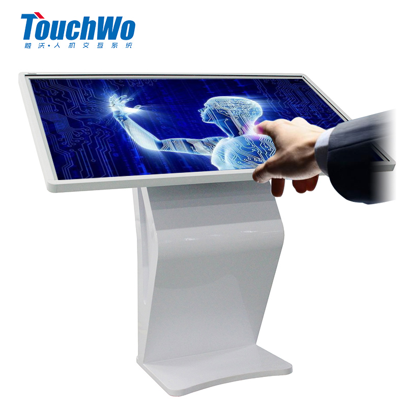 "Hot 55"" infrared IR large touch display dual operating system all in one meeting pc with wifi usb"