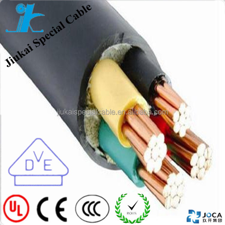 High quality KVV/KYJV motion control cable Copper conductor PVC/XLPE Insulated PVC sheathed Control Cable