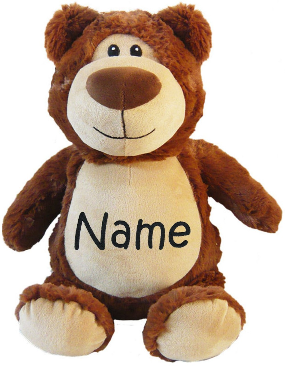 06f39165a13 Custom Personalized Name Plush Teddy Bear With Embroidery Logo - Buy ...