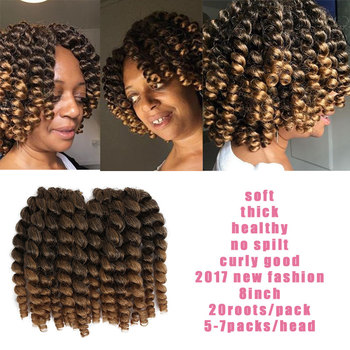Jamaican Bounce Twist Jumpy Wand Curls Two Tones Curl Braids Model 2x Mambo