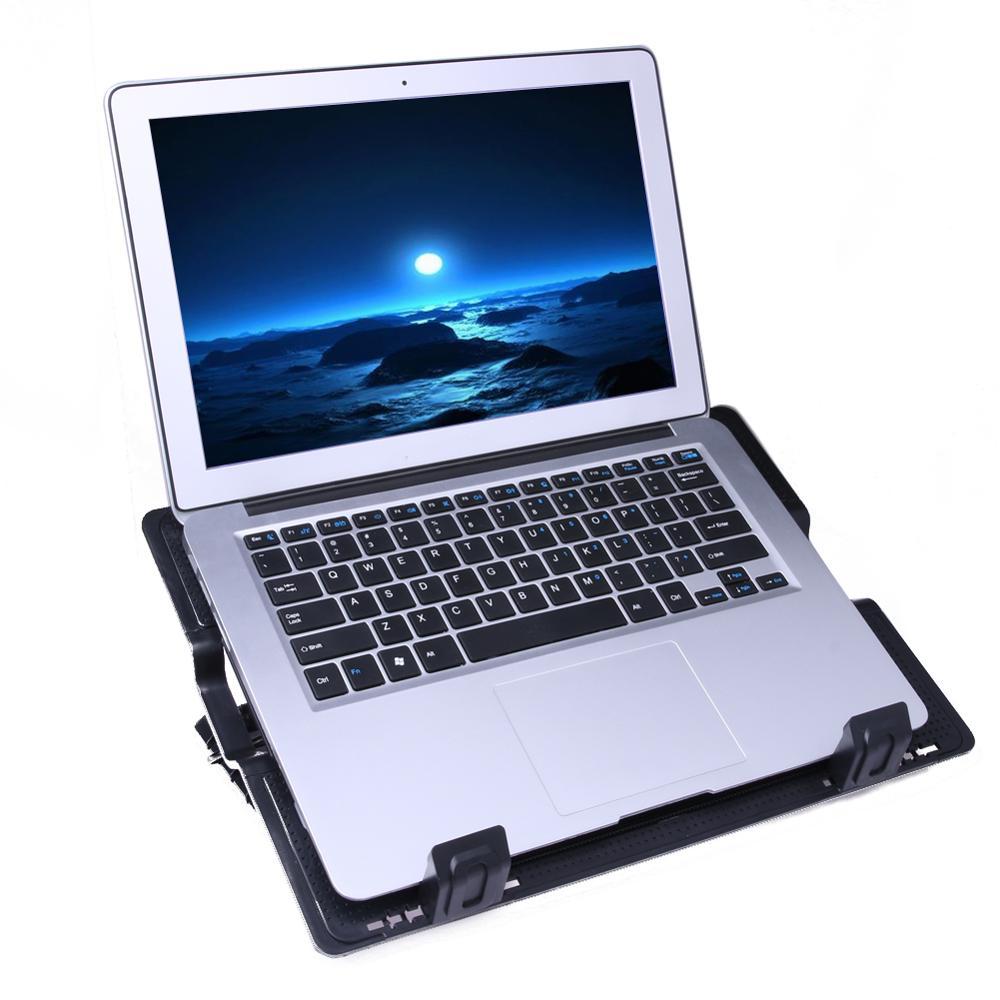 Laptop Cooler Accessories 6 5 45 Degree Adjustable 2 Usb Laptop