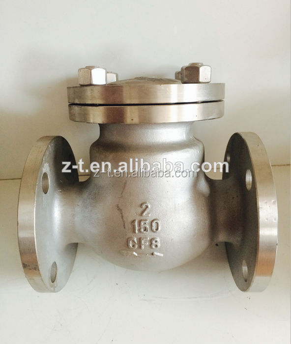 ANSI/JIS Flanged Swing Check Valve ,stainless steel
