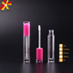 pink color lip gloss tube with applicator