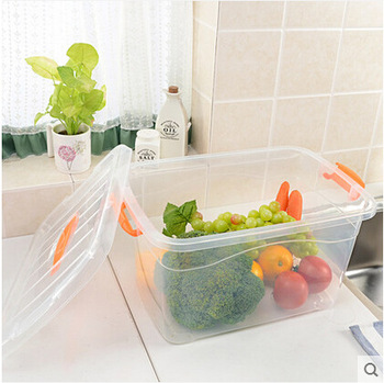 2019 hot high quality plastic household transparent plastic storage box