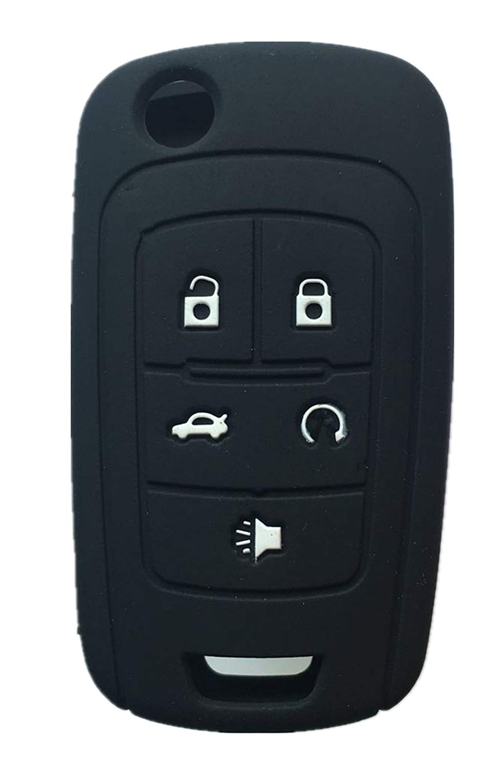 Rpkey Silicone Keyless Entry Remote Control Key Fob Cover Case protector For Buick Encore LaCrosse Regal Verano OHT01060512 5461A-01060512