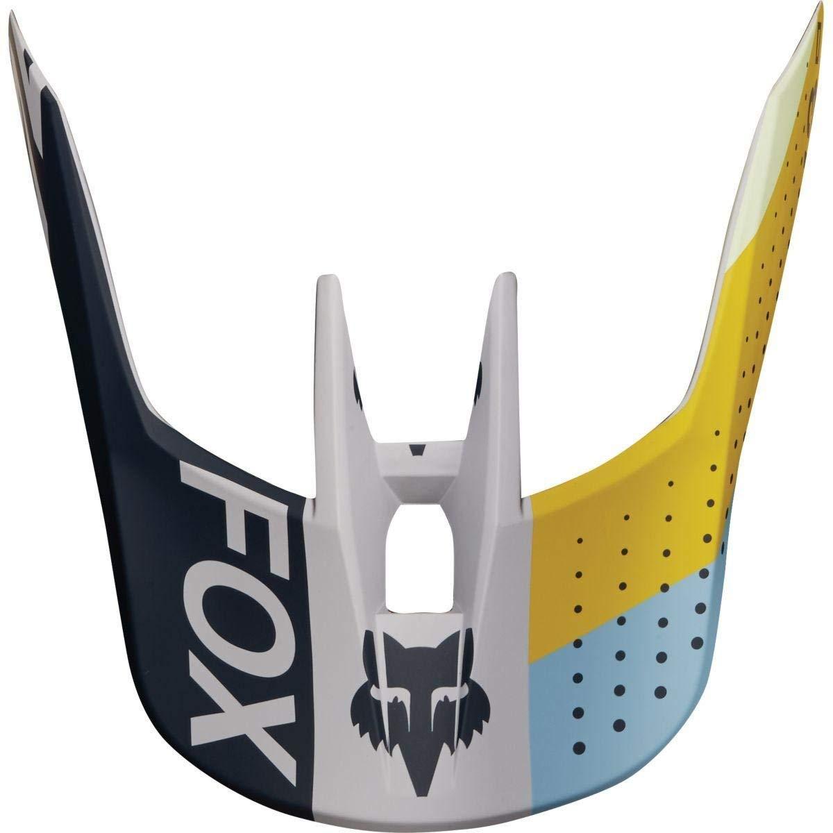 Fox Racing MX18 V3 Replacement Helmet Visor Matte Black