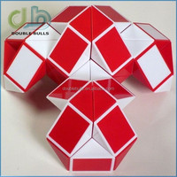 Top quality good price Cool Children's Magic Snake Shape Game 3D Cube Puzzle