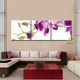Purple Orchid Digital Canvas Print 3 Pcs/Set Modern Style Cheap Pictures Decorative Wall Art Orchid Flower Print canvas
