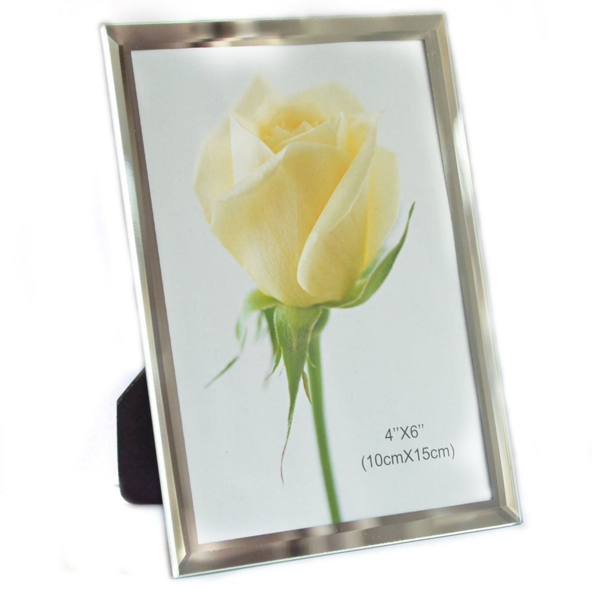 Gift Garden 4 by 6 -Inch Glass Picture Frame Decorative Artwork Frames for Photo Display 4x6