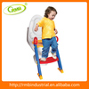Toilet Seat with Ladder Portable Potty Training Ladder Step Up Seat For Boys And Girls With Anti-Skid Feet