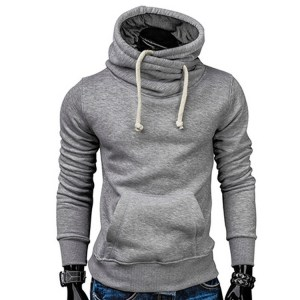 Comfortable Breathable Jumper Crew Neck Long Sleeve Mens Sports Fitness Workout Sweater Gym Hoodie Pullover