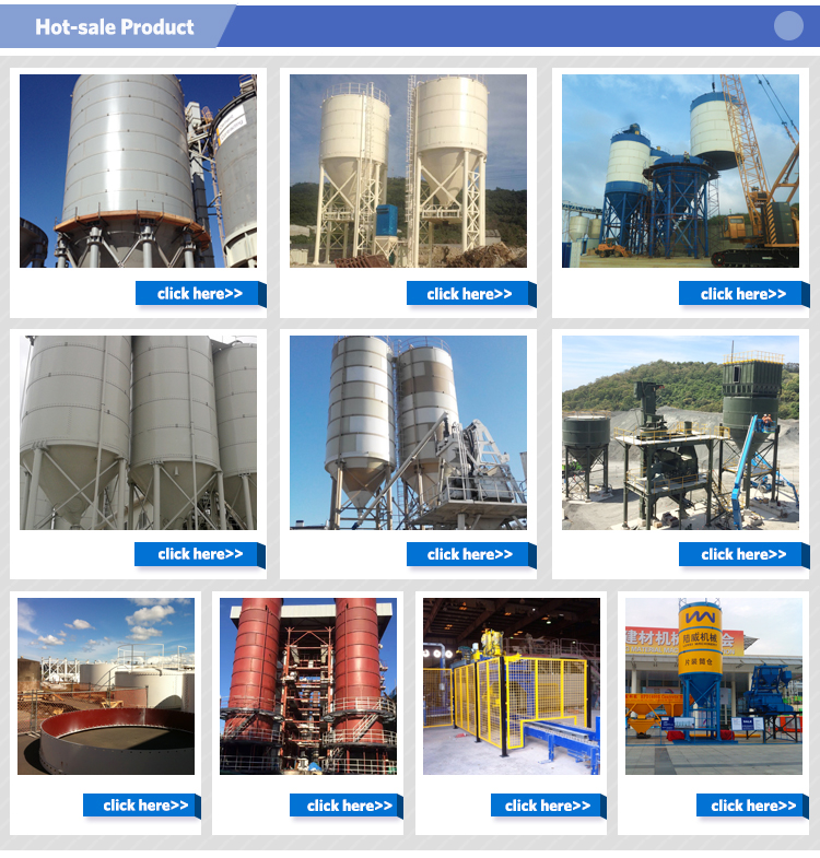 Competitive Price LUWEI Cement Used Bolted Grain Silos